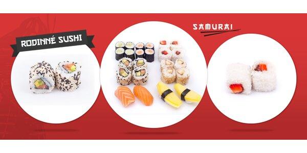 Rodinný 24ks sushi set s dovozem až do domu