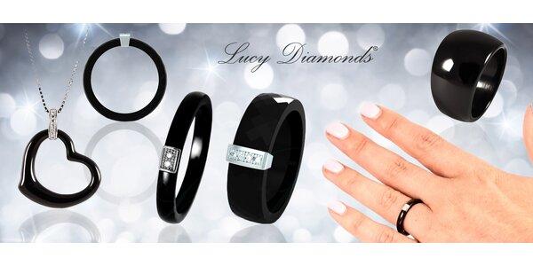 Úžasné keramické šperky s pravými diamanty