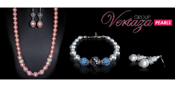 Sady okouzlujících šperků z voskovaných perel