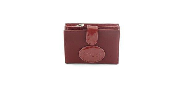 Dámská vínová peněženka Morgan de Toi