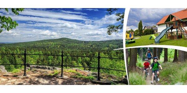 3 - 5 dní odpočinku v blízkosti brdských lesů