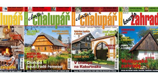 Roční předplatné časopisu CHATAŘ A CHALUPÁŘ