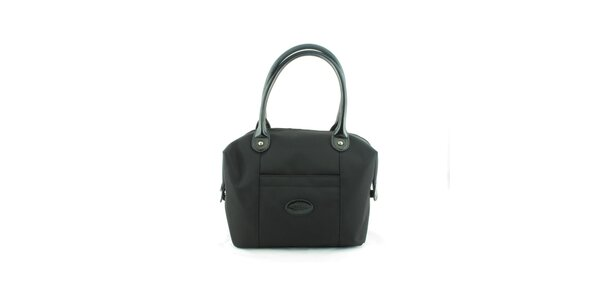 Dámská černá nylonová kabelka Morgan de Toi