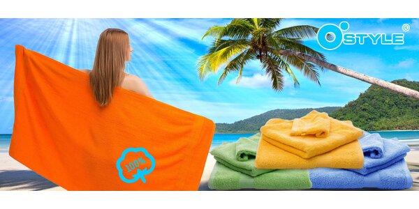 Lehké plážové osušky nebo ručníky O´Style