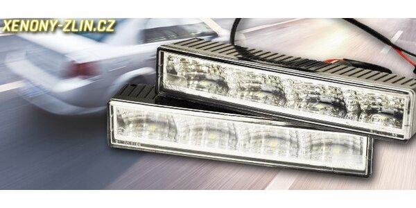 Výkonná LED denní světla pro osobní vozy