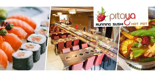 Sushi nebo unikátní čínský Hot Pot
