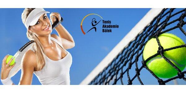 Celosezónní vstup na tenisový kurt pro dvě osoby