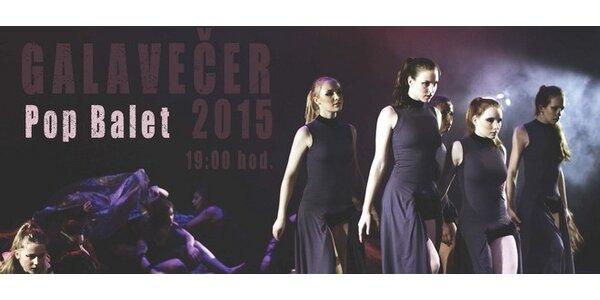 Pop Balet 2015 - prezentační galavečer