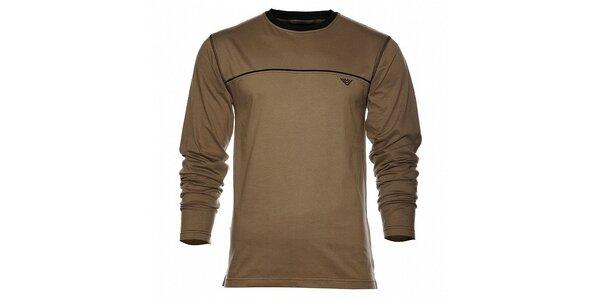Pánské tmavě zelené tričko Bushman
