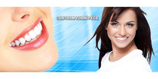 Profesionální dentální hygiena v Centru zubní péče