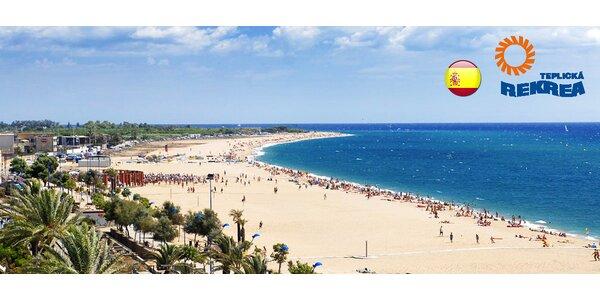 Léto ve španělském Malgrat de Mar s polopenzí