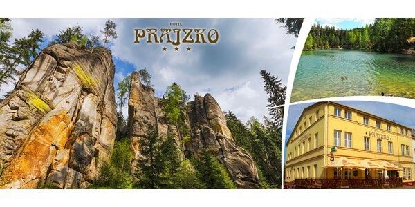 3 - 7 dní v Adršpachu s polopenzí pro dva