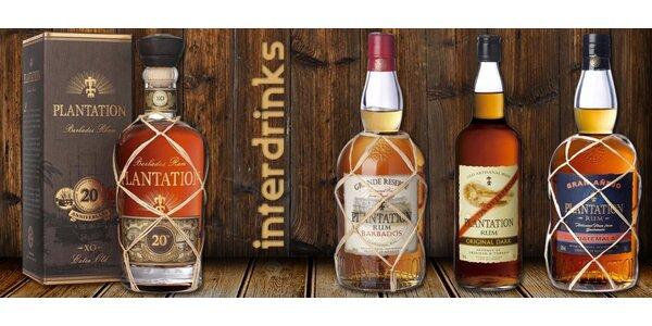 Luxusní rumy Plantation - 5 druhů na výběr