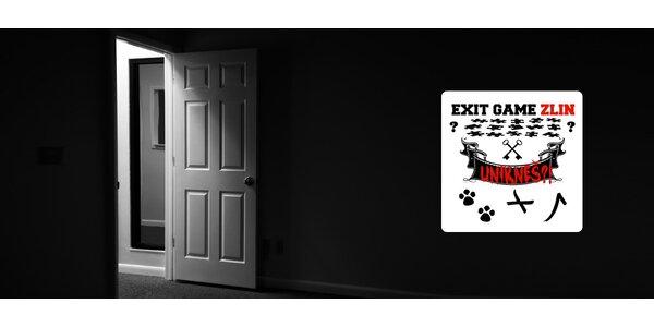 Týmová úniková hra Exit Zlín pro 4 až 5 hráčů