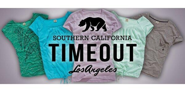 Příjemná dámská letní trička Timeout