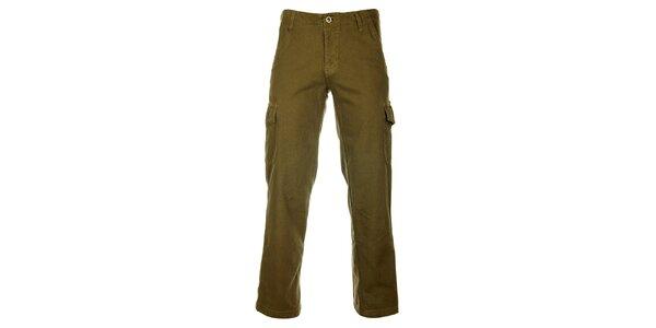 Pánské khaki kalhoty Bushman