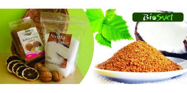 Kokosový nebo Finský březový cukr 500 g