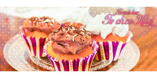 Domácí cupcakes z fresh baru To chce klid