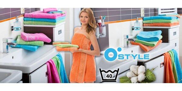 Osušky, ručníky a žínky ze 100% bavlny