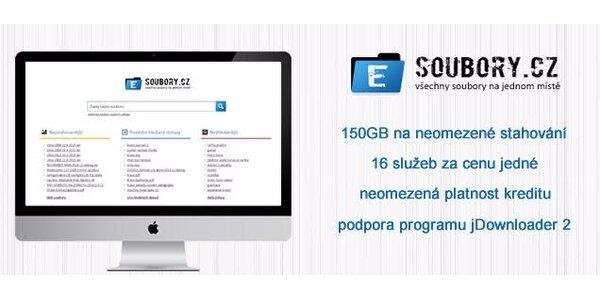 eSoubory.cz - 150 GB neomezeného stahování