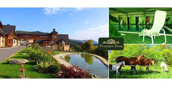 Rodinná dovolená v horském hotelu na bio farmě