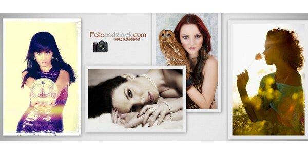Profesionální foto book nebo ateliérové fotky