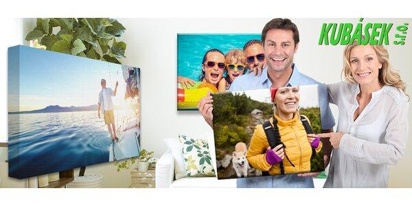 Fotoobrazy na neviditelném dřevěném rámu