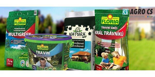 Prostředky Agro Floria pro perfektní trávník