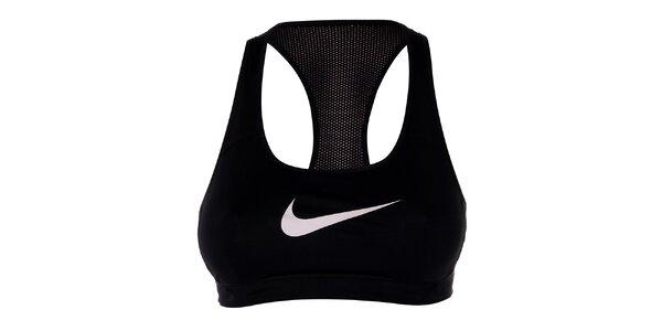 Dámská černá sportovní podprsenka Nike