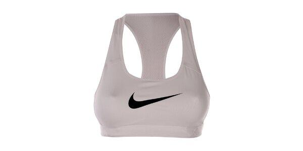 Dámská bílá sportovní podprsenka Nike