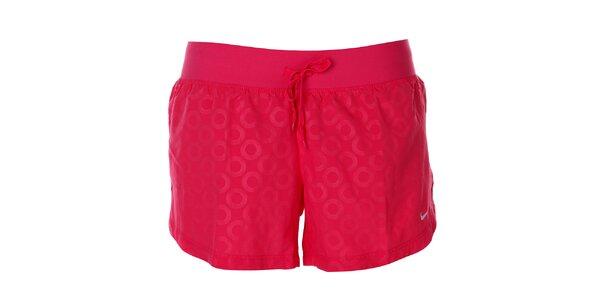 Dámské růžové šortky Nike
