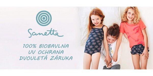 Dětské spodní prádlo Sanetta z biobavlny