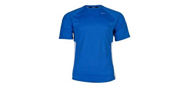 Pánské světle modré funkční tričko Nike
