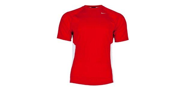 Pánské červené funkční tričko Nike