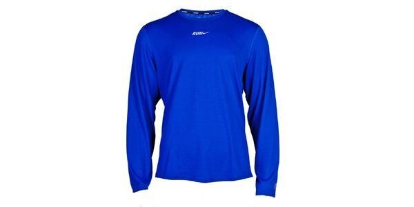 Pánské zářivě modré funkční tričko Nike