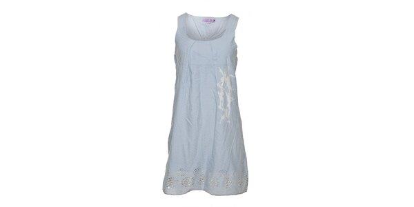Dámské světle modré šaty Lois
