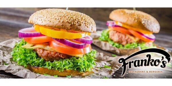 2 poctivé maxi burgery