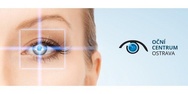 Bezbolestná laserová operace oka na míru za 8500 Kč