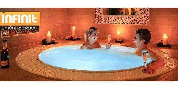 Privátní wellness Infinit pro dva - sauna a whirlpool