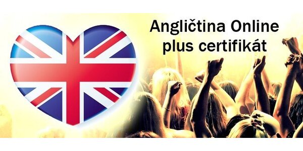 Online kurz angličtiny na 6, 18 nebo 36 měsíců