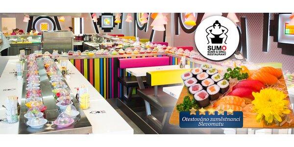 Nové sushi v OC Novodvorská Plaza