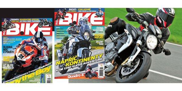 Roční předplatné časopisu MOTORBIKE + Katalog