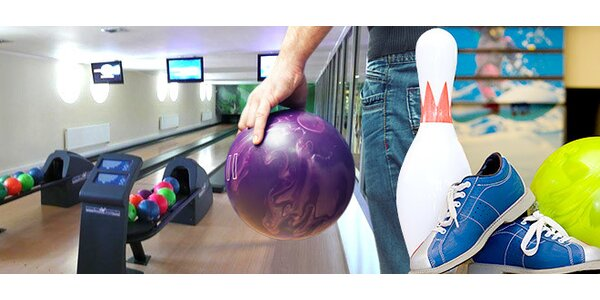 65% sleva na dvě hodiny bowlingu