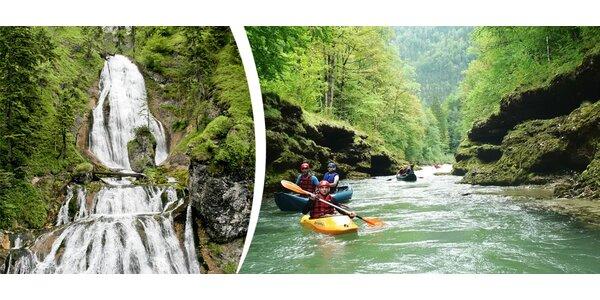 2 dny raftingu v peřejích řeky Salza