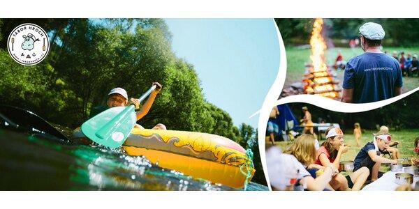 Vodácký tábor Hroch - nejlepší léto na Vltavě