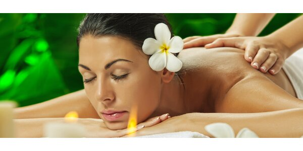 Božský relax – 50minutová havajská masáž