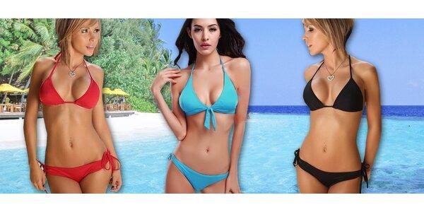 Dvoudílné dámské plavky ve 3 modelech