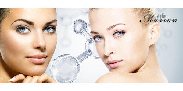 Kosmetické ošetření s kyslíkovou terapií