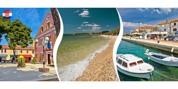 Týden v chorvatském letovisku Biograd na Moru