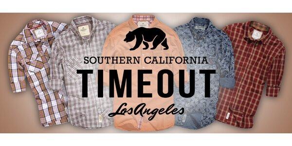 Pánské vzorované košile Timeout